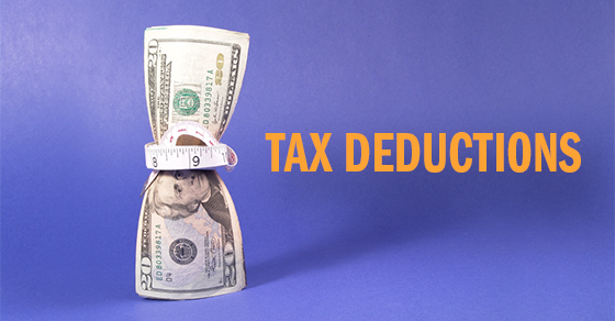 2018 tax deductions smaller or non-existent
