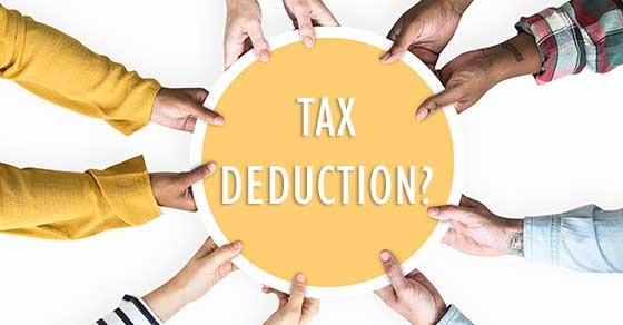 Tax deducions and volunteering for charity