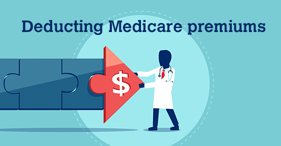 Can seniors deduct medicare premiums